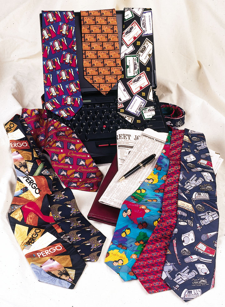 Custom Printed Neckties