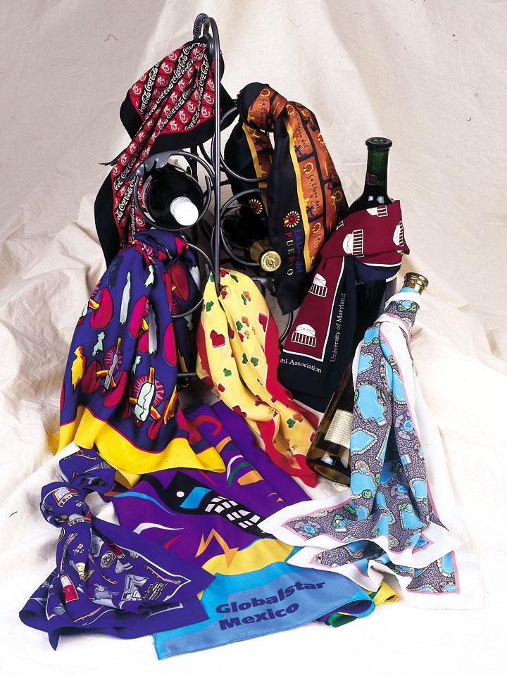 adverties neckwear custom scarves custom neckties