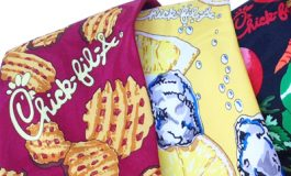 Adverties Chickfila custom ties apparel branding