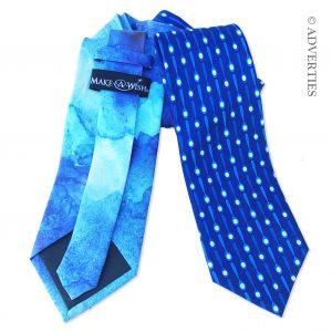 Adverties Make-A-Wish Fundraiser Neckties