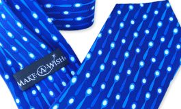 adverties neckwear make-a-wish fundraising ties